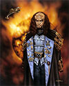 Large Gowron Lithograph: The Pride And The Glory.
